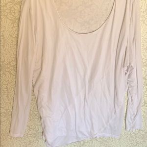 Athleta 2x soft cotton long-sleeved top